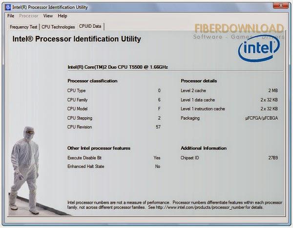Intel Processor Identification Utility 5.01 Free
