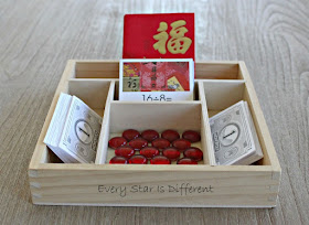 Chinese New Year Red Envelope Division Clip Card Activity