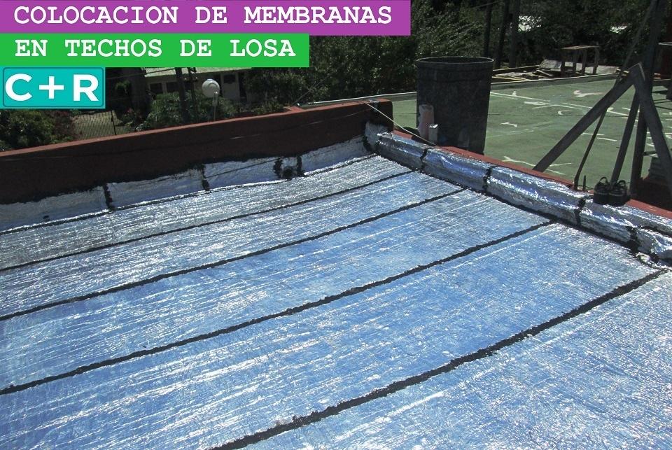 Colocacion de membranas en claypole membranas para techos for Precio mano de obra colocacion tela asfaltica