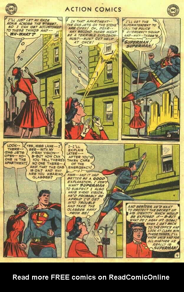 Read online Action Comics (1938) comic -  Issue #202 - 6