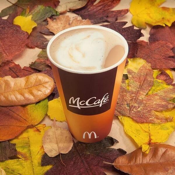 #McCafe Pumpkin Spice Latte @McDonaldsATL #ad