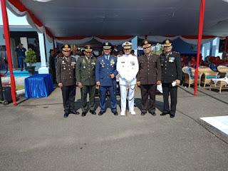 Peringatan Hut TNI AU Ke 72 Tetap Meriah Dan Khidmat Tanpa Demo Udara