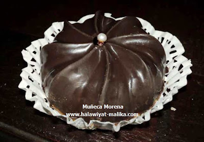 حلوة جوز الهند بالشوكولاته