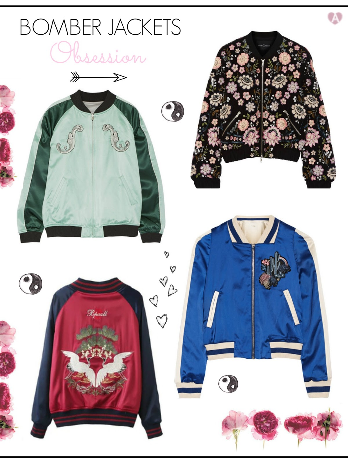 The best embroidery bomber jackets