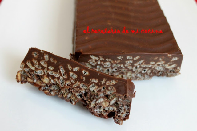 Turrón de chocolate (tipo Suchard)
