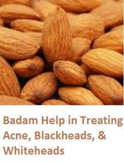 Health Benefits of Almond or Badam Help in Treating Acne, Blackheads, & Whiteheads