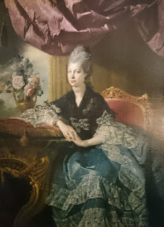 Queen Charlotte  by Johan Joseph Zoffany (1771)  Royal Collection
