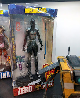 Toy fair 2018 McFarlane Borderlands 7 inch action figures