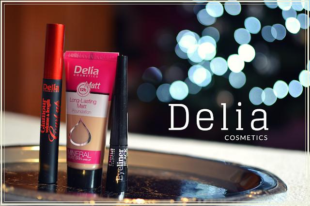Delia Cosmetics - recenzja kosmetyków, opinia.