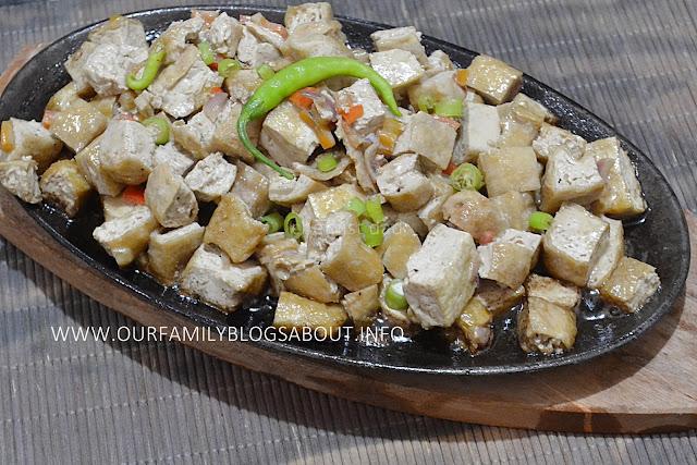 sizzling tofu, tokwa recipe, vegan recipe