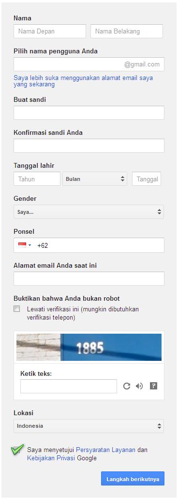 buat akun gmail, daftar gmail, gmail masuk, gmail indonesia, gmail daftar, membuat gmail, buat email gmail, masuk gmail