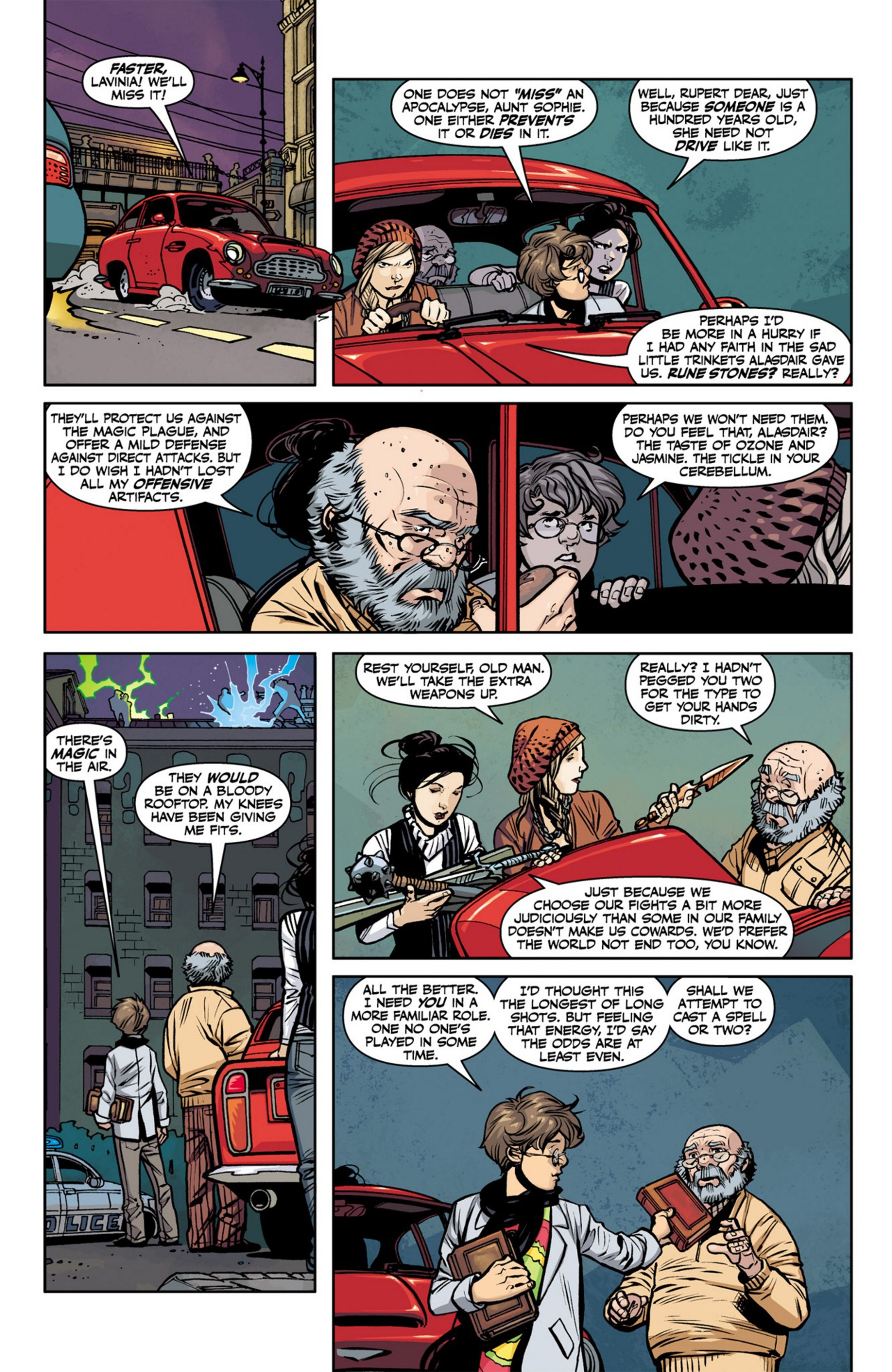 Read online Angel and Faith comic -  Issue #23 - 16