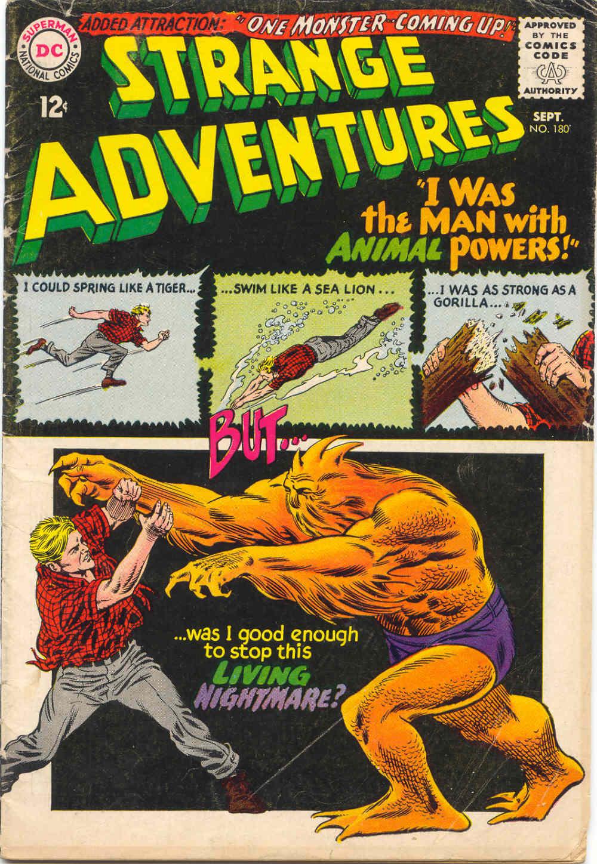 Strange Adventures (1950) issue 180 - Page 1