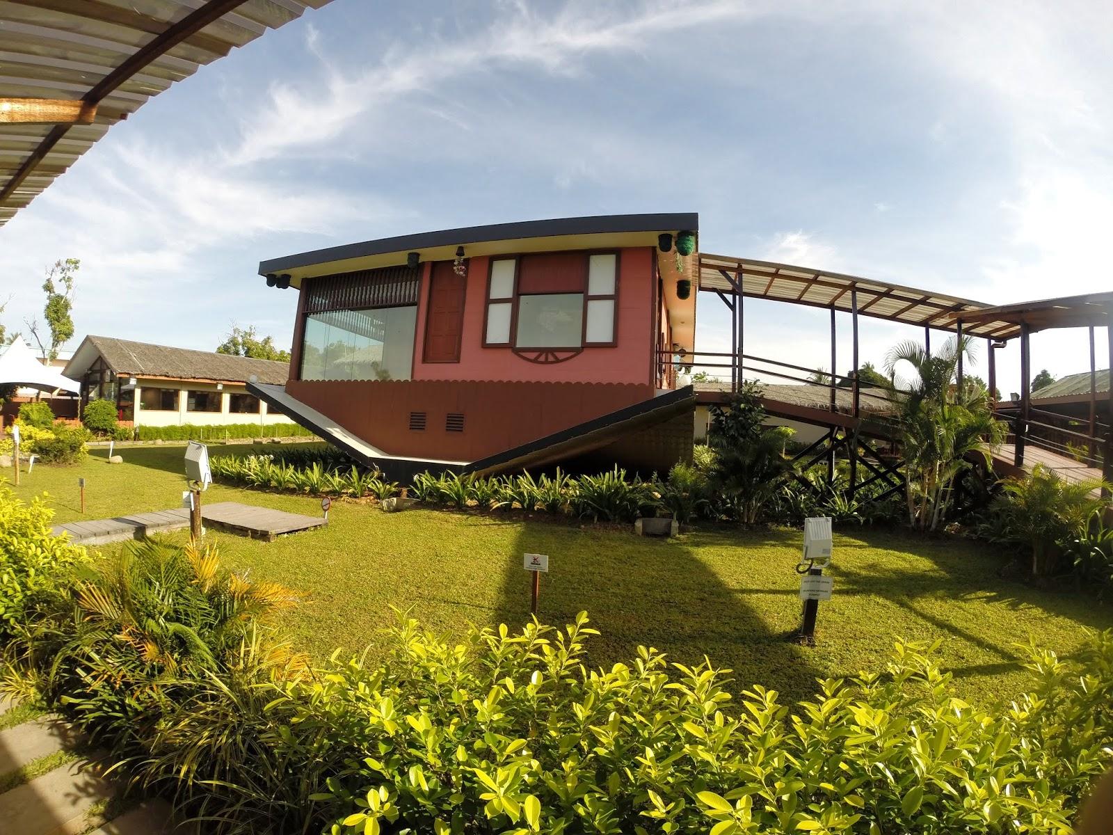 Image result for rumah terbalik tamparuli