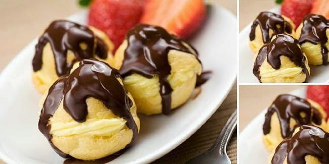 Resep Custard Coklat