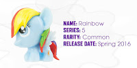 MLP Fashems Series 5 Rainbow Dash Figure by Tech 4 Kids