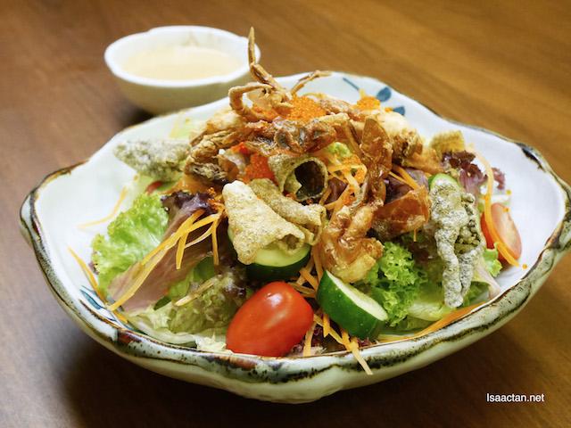 Soft Shell Crab Salada - RM33
