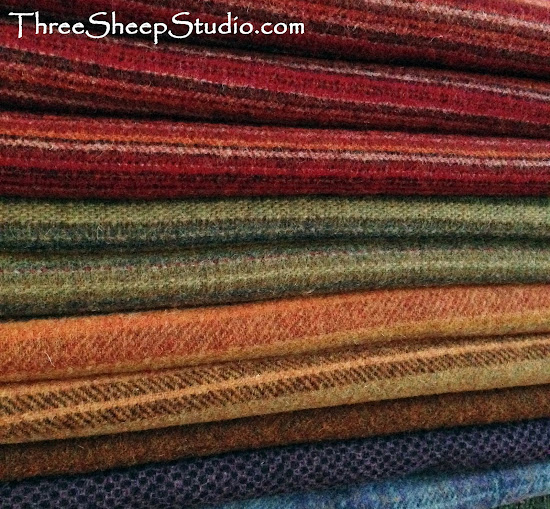 Wool Fabric - ThreeSheepStudio.com