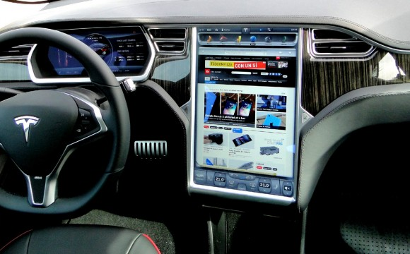 In August This Year Developer And Security Researcher Jonathan Rudenberg Got A Chance To Test The Browser Tesla Model S First Thing He Did Was Go