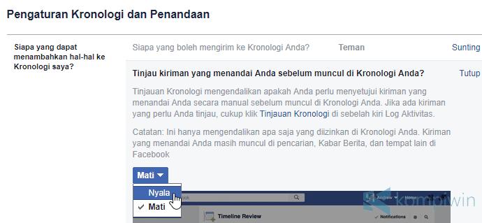 Cara Agar Teman Facebook Tidak Bisa Tag Kamu Sembarangan 1