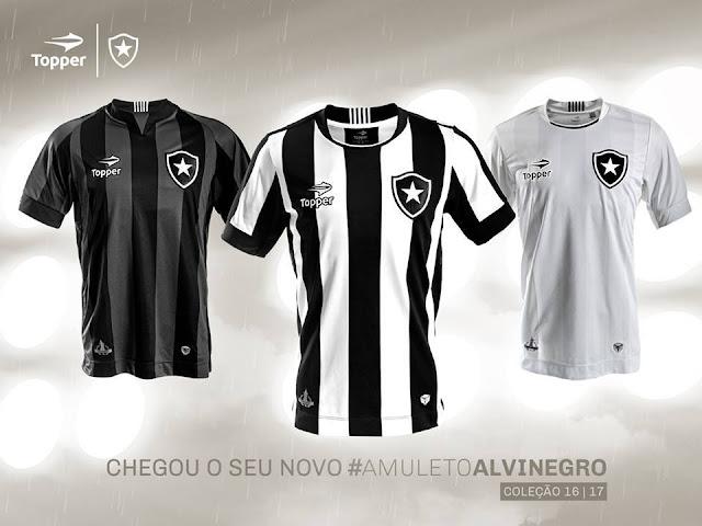 Topper lança nova linha de camisas do Botafogo, que ficaram lindas