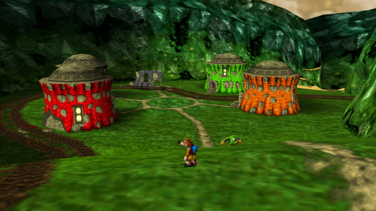 Nuts And Bolts Near Me >> The Video Game Genealogist: Side-Game : Banjo-Tooie (N64, 2000) - Completionist dream or nightmare?