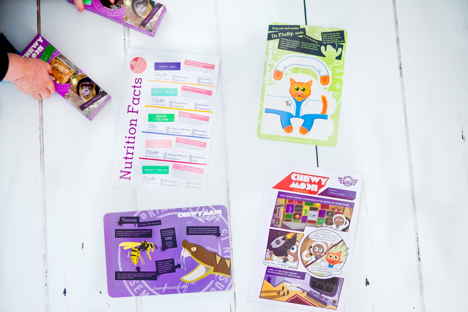 Chewymoon subscription box, chewymoon reviews, kids subscription snack box,