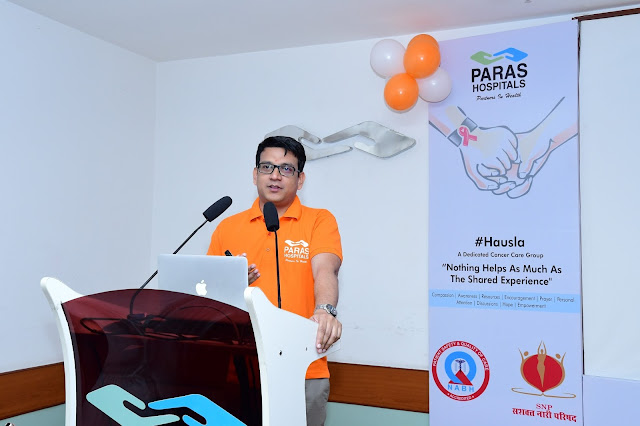#hausla, a dedicated Cancer Care Group launched by Paras Hospitals Gurgaon