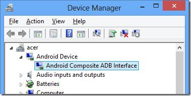 samsung android adb driver download windows xp