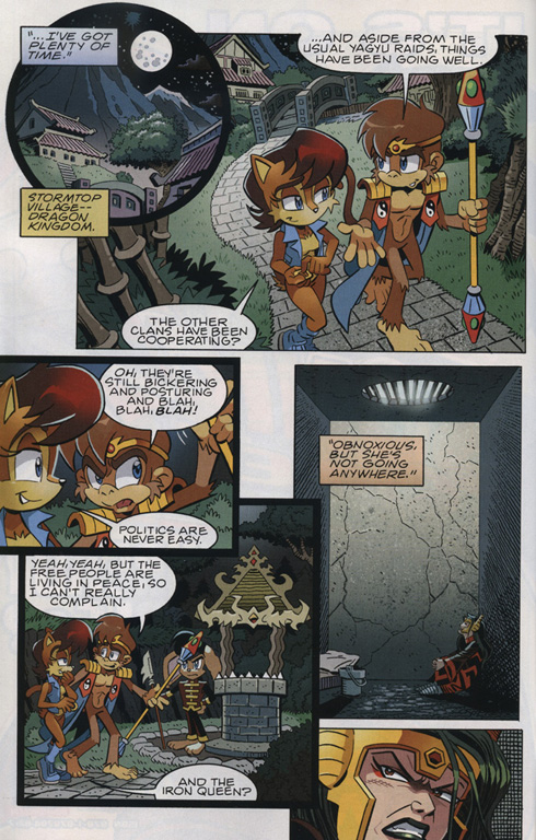 Read online Sonic The Hedgehog comic -  Issue #222 - 6