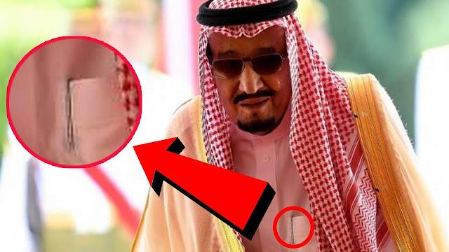 Inilah Benda Yang Selalu Dibawa Oleh Raja Salman Dalam Sakunya