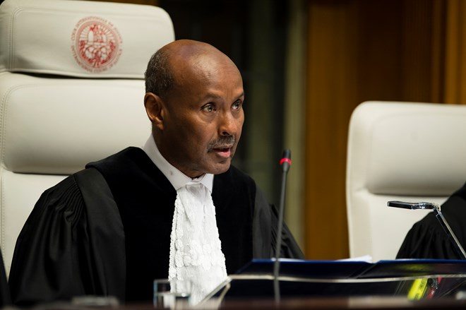 Somali judge Abdulqawi Ahmed Yusuf  is elected President of International Court of Justice