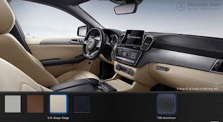Nội thất Mercedes GLE 450 AMG 4MATIC 2015 màu Vàng Ginger 225