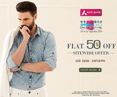 Flat 50% Off on All Products @ Basicslife (Sitewide) – Valid for Axis Bank Credit / Debit Card / Net Banking till 24th Sep'15