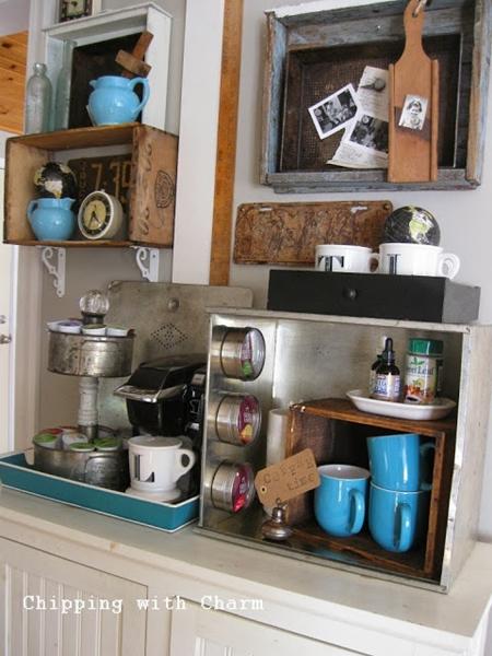 decoração café