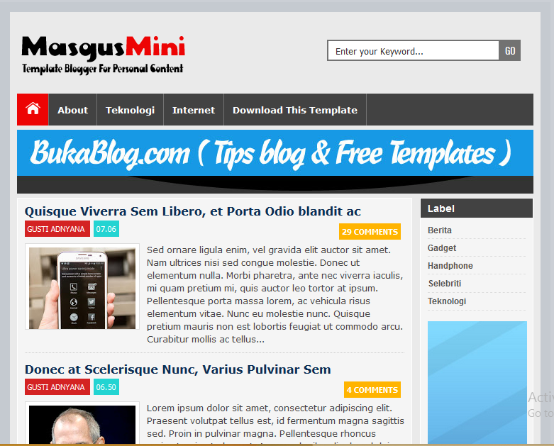 Masgusmini responsive high ctr blogger template softdews masgusmini responsive high ctr blogger template pronofoot35fo Images