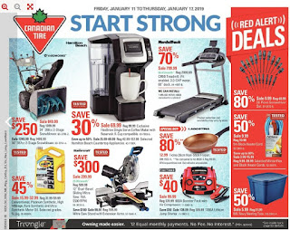 Canadian Tire Flyer  Weekly - Start Strong Fri Jan 11 – Thu Jan 17
