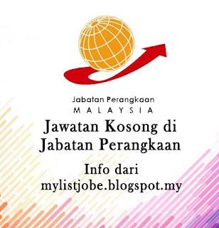 Jawatan Kosong Terkini di Jabatan Perangkaan Negeri Sembilan - 30 Ogos 2016
