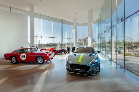 Aston Martin Expands in Abu Dhabi