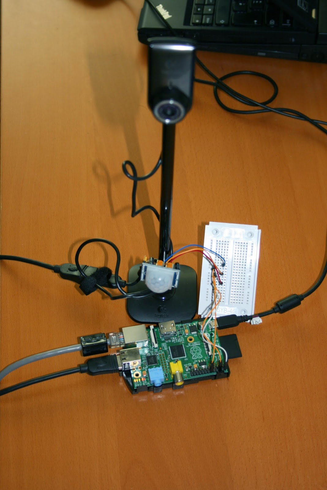 Data Henrik: Catching the mean chocolate thief with Raspberry Pi