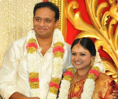 Deepu-Karunakaran-Archana-Mohan-Marriage Photo