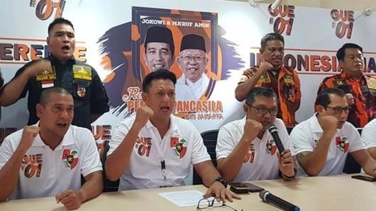 Ormas Pemuda Pancasila Serukan 'Satu Komando' Dukung Jokowi-Ma'ruf