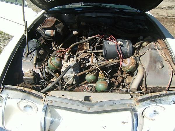 Restoration Project Cars: Rare Project, 1972 Citroen SM