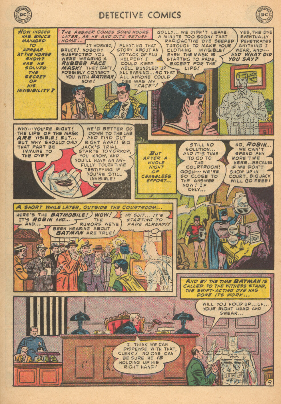 Detective Comics (1937) 199 Page 9