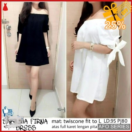 AFO523 Model Fashion Dress Firna Modis Murah BMGShop