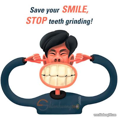 Nghiến răng là một trong 15 thói quen gây hại cho răng của bạn