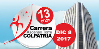 Carrera Ascenso Torre Colpatria 2017 Bogotá