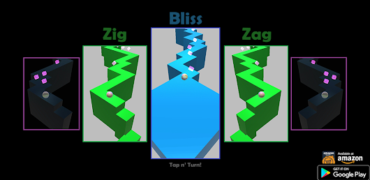 ZigZag Bliss - (New tapping game! earn real money in contests)