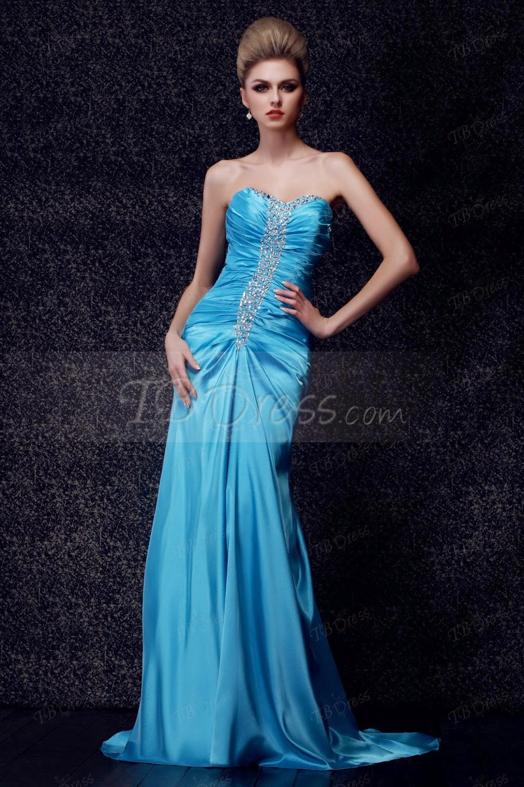 Amazing Mermaid/Trumpet Floor-Length Sweetheart Empire Dasha's Evening Dress