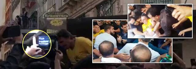 Urgente! Bolsonaro é esfaqueado em Juiz de Fora por Militante do PT